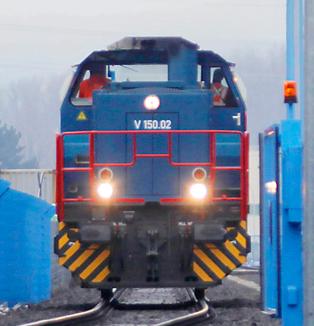 Informationsbroschüre Rhein-Saar-Mosel Containerexpress :